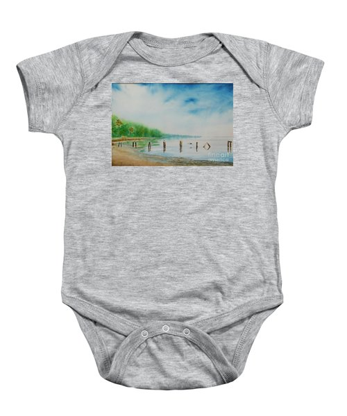 Twin Launch Baby Onesie