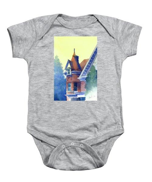 Twin Peaks Baby Onesie