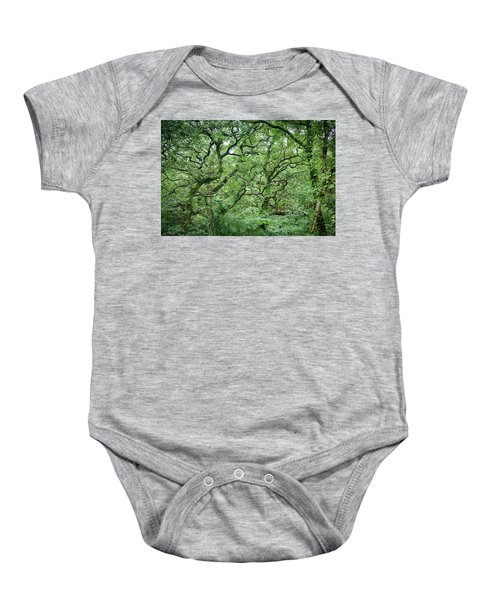 Twisted Forest Full Color Baby Onesie