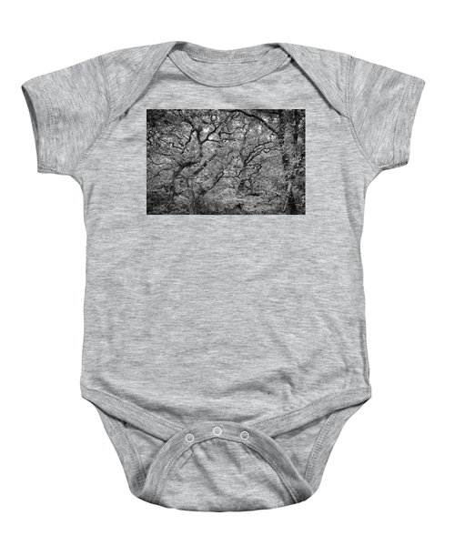 Twisted Forest Baby Onesie