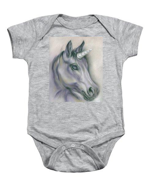 Unicorn Portrait Baby Onesie