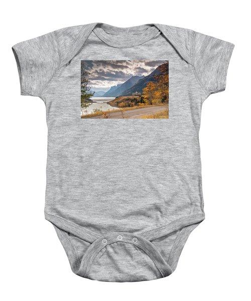 Upper Waterton Lakes Baby Onesie