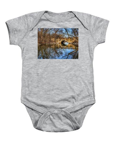 Uw Arboretum  Baby Onesie