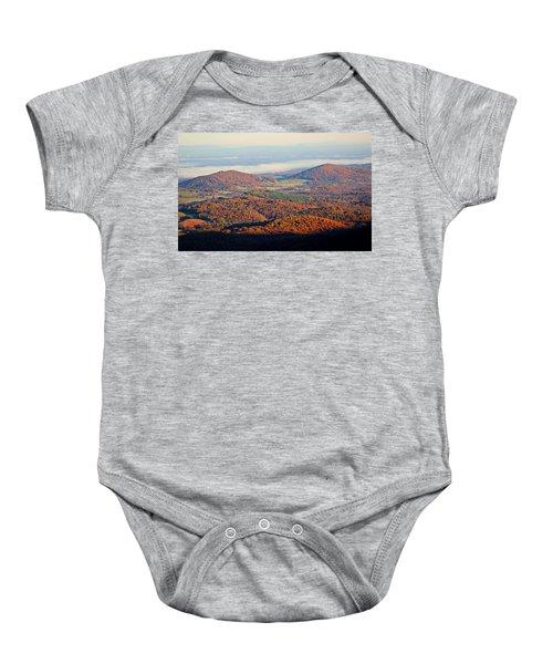 Valley View Baby Onesie
