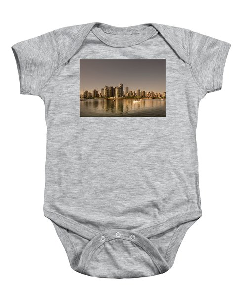 Vancouver Golden Light Hour Baby Onesie