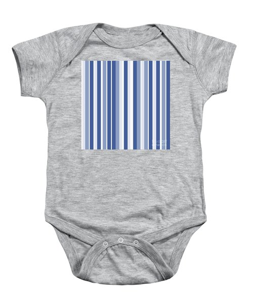 Vertical Lines Background - Dde605 Baby Onesie