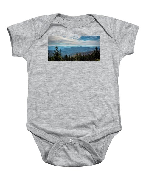 View From Clingman's Dome Baby Onesie