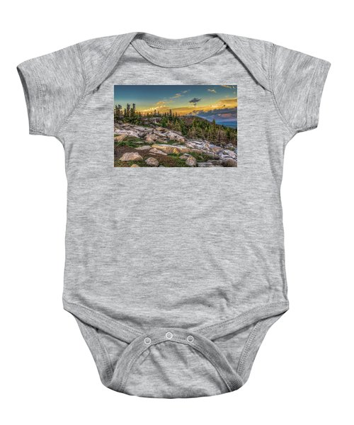 View From Dolly Sods 4714 Baby Onesie