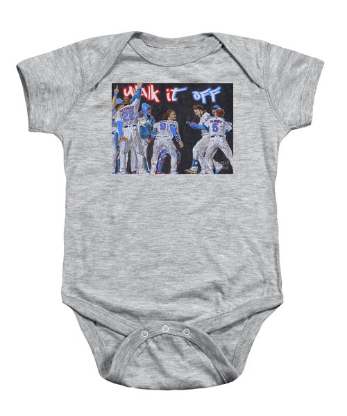 Walk It Off Baby Onesie
