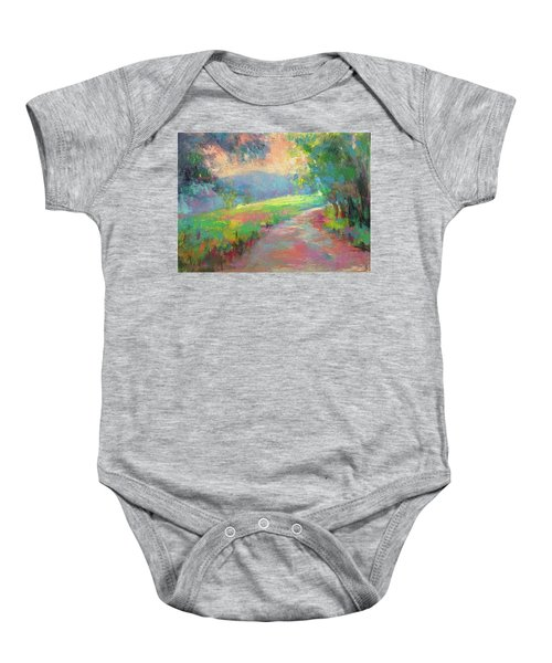 Walking By Faith Baby Onesie