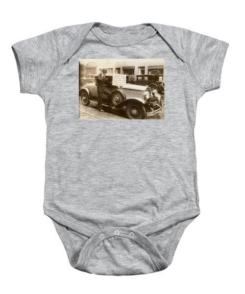 Wall Street Crash, 1929 Baby Onesie