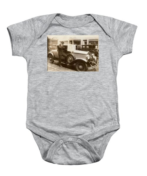 Wall Street Crash, 1929 Baby Onesie
