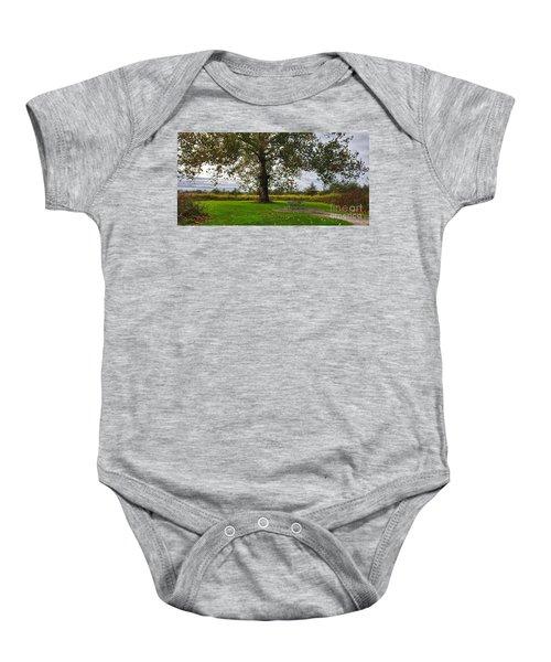 Walnut Woods Tree - 1 Baby Onesie