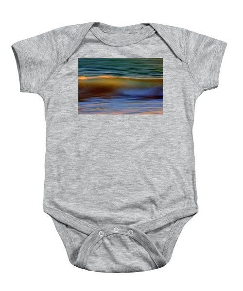 Wave Abstact Baby Onesie