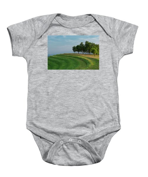 Waves Of Grass Baby Onesie