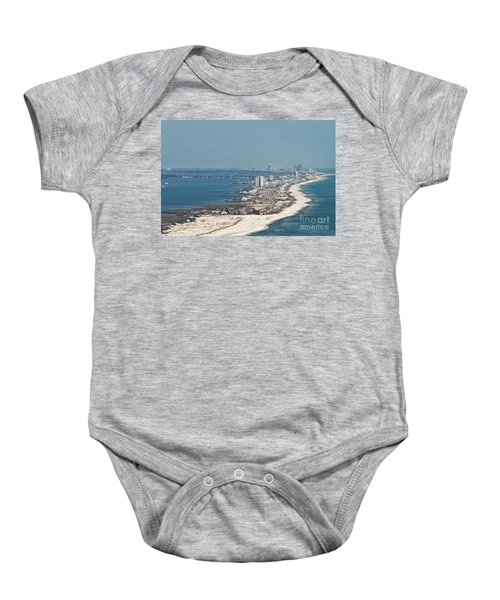 West Beach-1 Baby Onesie
