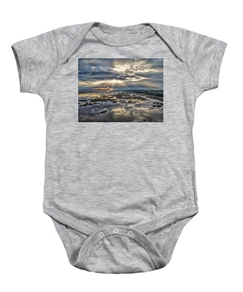 Whale Branch - Angel Rays Baby Onesie