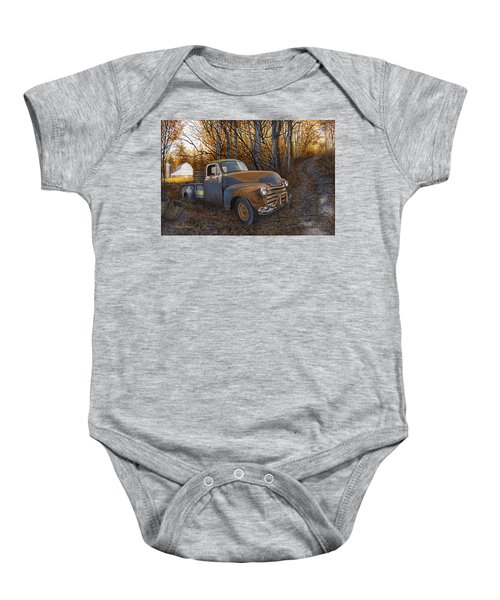 Whiskey Run Baby Onesie