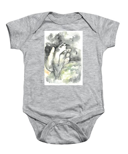 White-faced Storm-petrel Baby Onesie