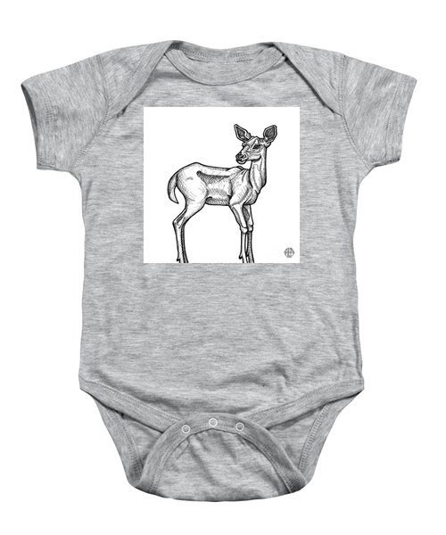 White Tailed Doe Baby Onesie