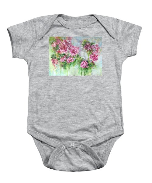 Wild Roses Baby Onesie