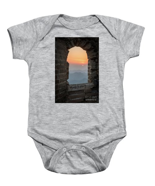 Window In The Wall Baby Onesie