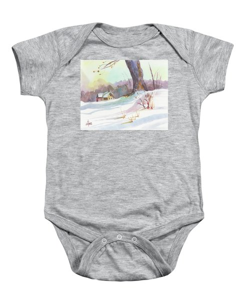 Winter Break Baby Onesie