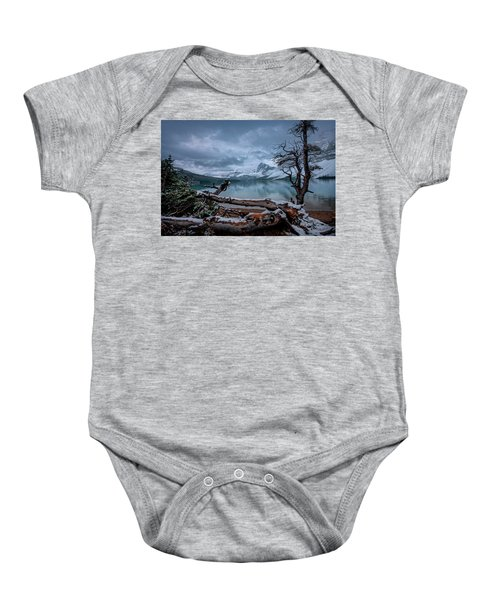 Winter Is Coming Bow Lake Baby Onesie