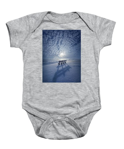Within The Absence Are The Memories Baby Onesie
