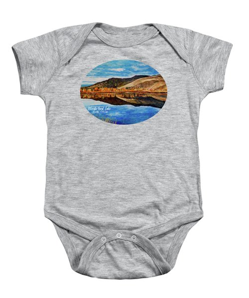 Wonderland Lake Baby Onesie