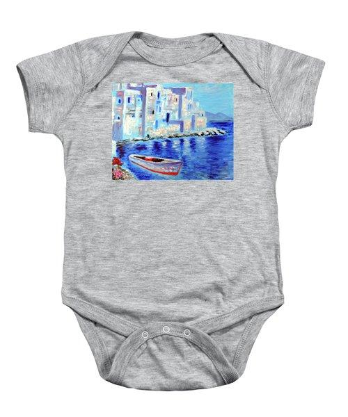 Wondrous Mykonos  Baby Onesie