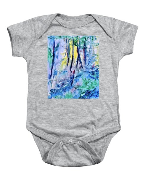 Wooded Stream Baby Onesie