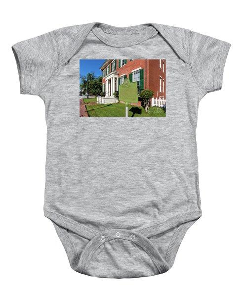 Woodrow Wilson Boyhood Home - Augusta Ga 1 Baby Onesie