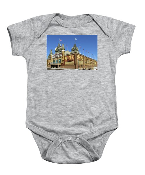 Worlds Only Corn Palace 2018-19 Baby Onesie
