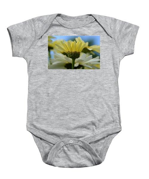 Yellow Daisy Baby Onesie