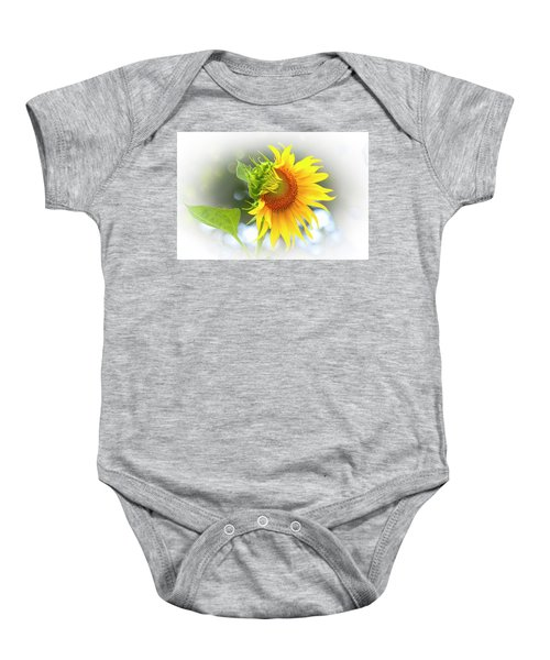 Yellow Petals Of Sunshine Baby Onesie