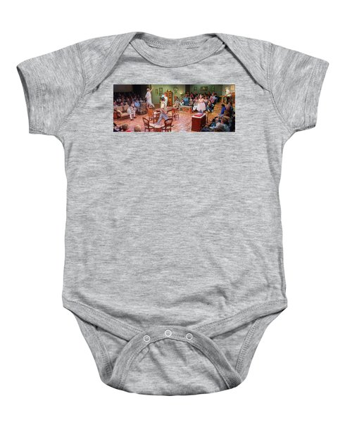 You Can't Take It With You  Baby Onesie