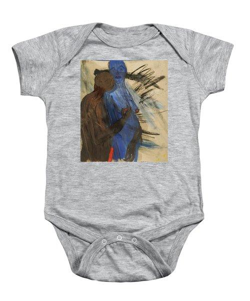 Zeus And His Thunderbolt Baby Onesie