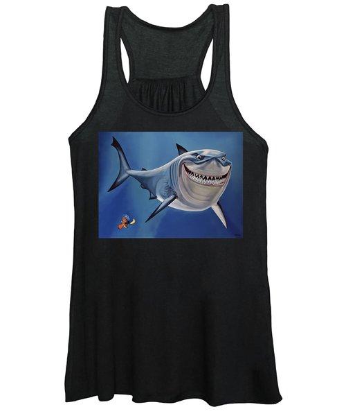 Finding Nemo Painting Women's Tank Top