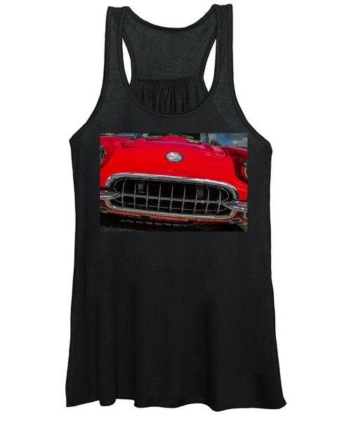 1958 Chevrolet Corvette Grille Women's Tank Top