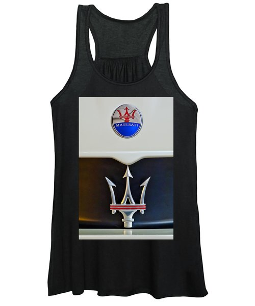 2005 Maserati Mc12 Hood Emblem Women's Tank Top