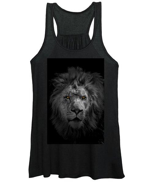 African Lion Women's Tank Top