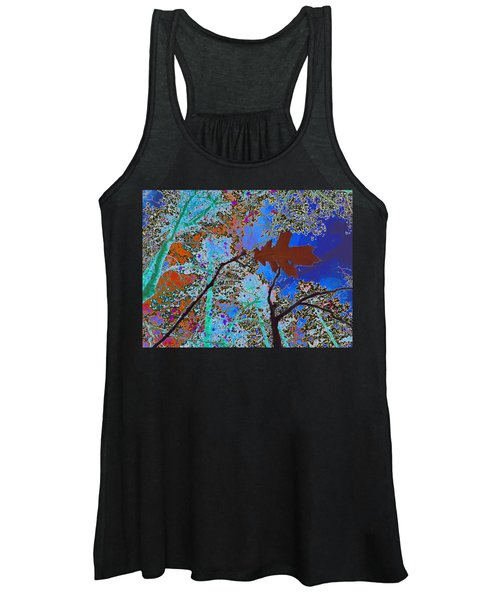 before the descent BLUE Women's Tank Top