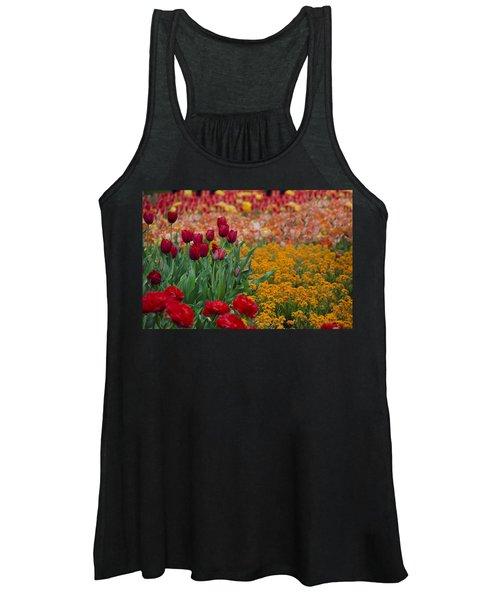 Flowers Everywhere Women's Tank Top