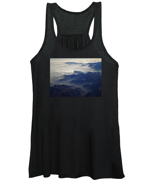 Flying Over The Alps In Europe Women's Tank Top