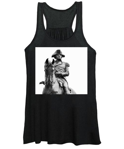 George Washington Statue Boston Ma Women's Tank Top