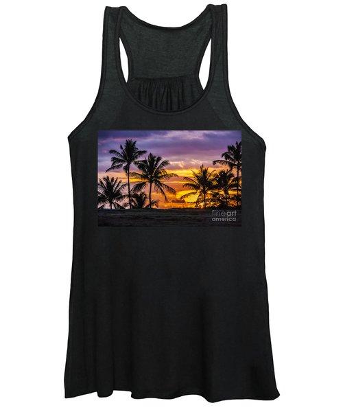 Hawaiian Sunset Women's Tank Top