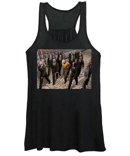 Last March Of The Non Conformist Women's Tank Top