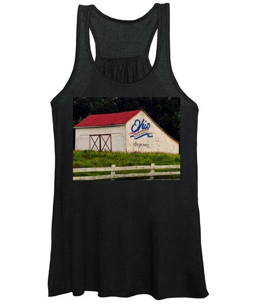 Ohio Bicentennial Barn Women's Tank Top
