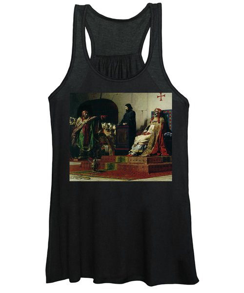 Pope Formosus And Pope Stephen Vi Women's Tank Top